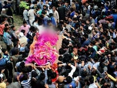 Thousands At Terrorist's Funeral In Kashmir, Just Family For Cop He Shot
