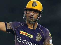 IPL 2017: Gautam Gambhir Terms Kolkata Knight Riders' Batting Performance 'Irresponsible'