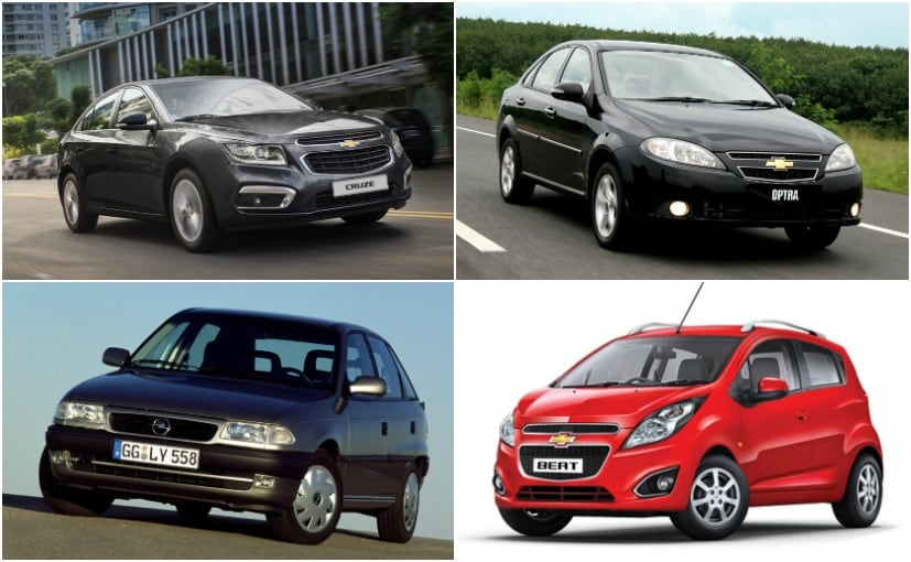 7 popular general motors cars sold in india ndtv carandbike for General motors cars brands