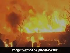 Massive Fire Breaks Out At Ghaziabad Chemical Factory