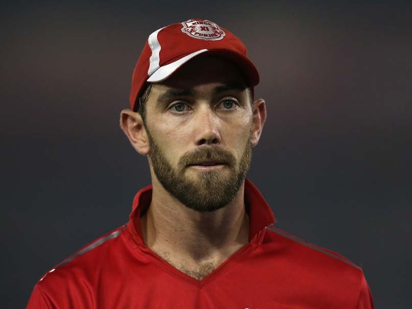 IPL 2017: Glenn Maxwell Left Devastated By Kings XI Punjab