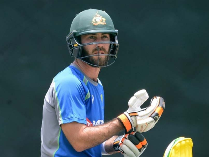 Champions Trophy 2017: Injury Scare For Australia, Glenn Maxwell Ruled Out Of Tour Game