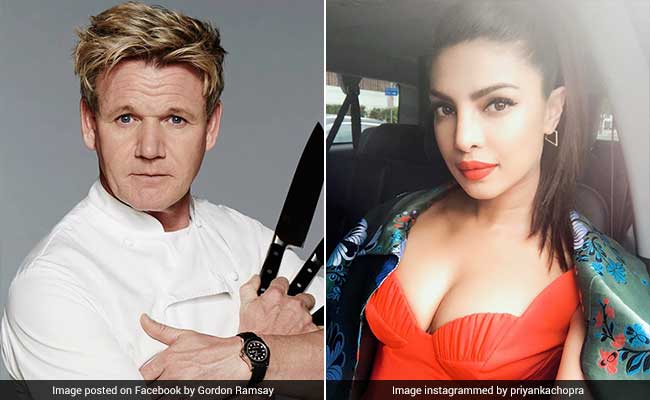 This Is What Gordon Ramsay Had To Say About Priyanka Chopra's Cooking