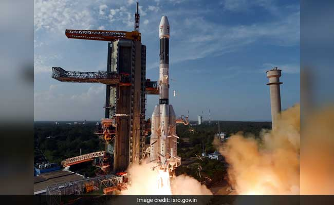 ISRO's South Asia Satellite, Atop 50-Meter Rocket, Lifts Off: 10 Points