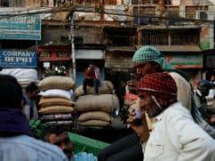 जीएसटी का विरोध : अनाज व्यापारियों ने 5 प्रतिशत GST के विरोध में दुकानें बंद रखीं