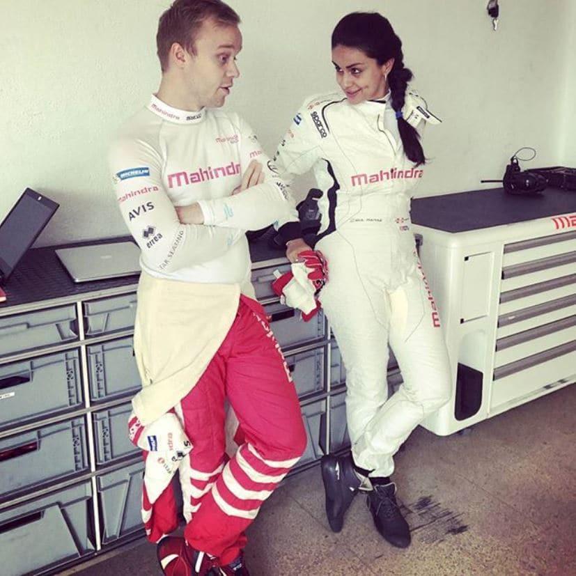 gul panag mahindra racing formula e