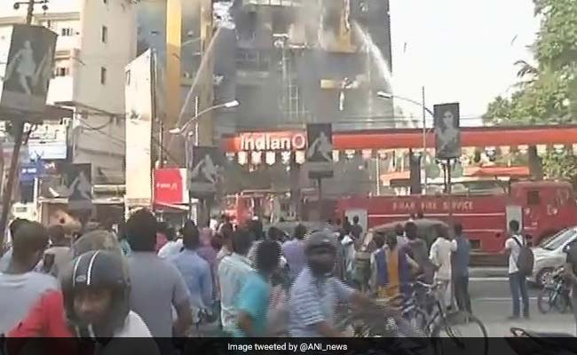 Fire Breaks Out In Patna's GV Mall