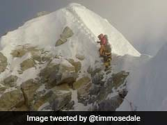 End Of An Era As Mount Everest's 'Hillary Step' Rock Face Collapses