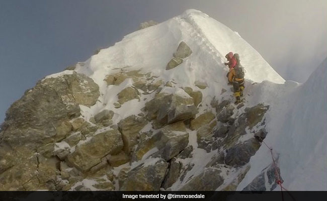 Mount Everest's Hillary Step 'not there any more', says mountaineer