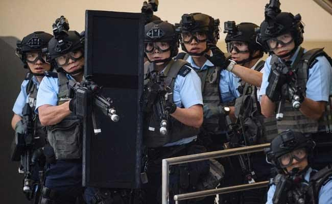 Dramatic Terror Drill Staged In Hong Kong Ahead Of China Visit
