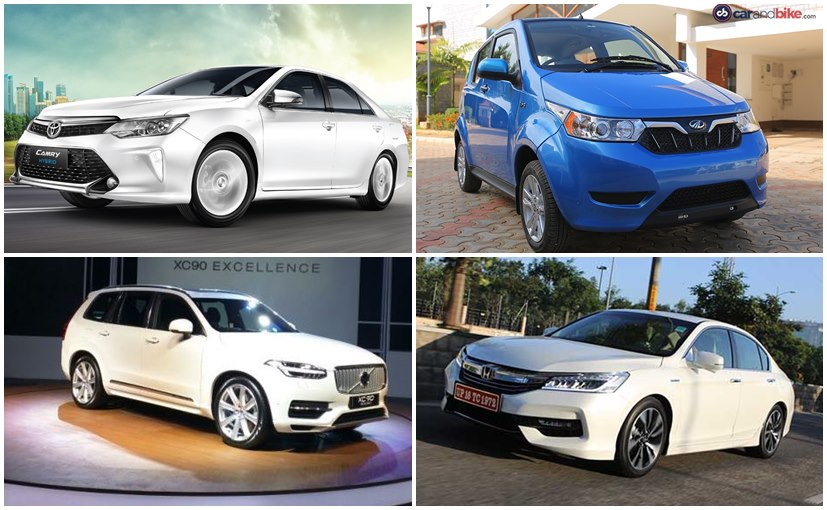 Top 5 Hybrid Electric Cars In India Ndtv Carandbike