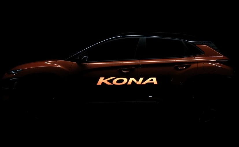 Hyundai Kona Subcompact SUV Official Teaser Video Released In Korea