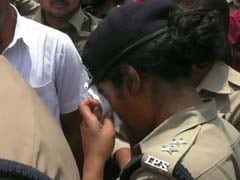 'Don't Cross Limits' Shouts BJP Lawmaker, Reducing Woman IPS Officer Charu Nigam To Tears