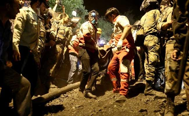Hopes Fade For Iran Miners After 22 Die In Failed Rescue Bid
