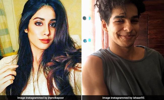 शाहिद कपूर के मना करने पर भी श्रीदेवी की बेटी संग फिल्म की स्क्रीनिंग पर पहुंचे भाई ईशान खट्टर