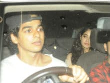 Jhanvi Kapoor, Shahid Kapoor's Brother Ishaan Khattar Trend After Showing Up At <I>Baywatch</i> Screening Together