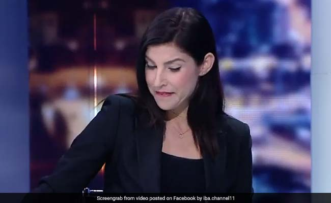 TV Anchor Fights Tears After Finding Out On Air Channel Is Being Shut