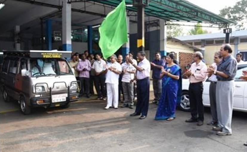 ISRO Demonstrates Solar Hybrid Electric Car