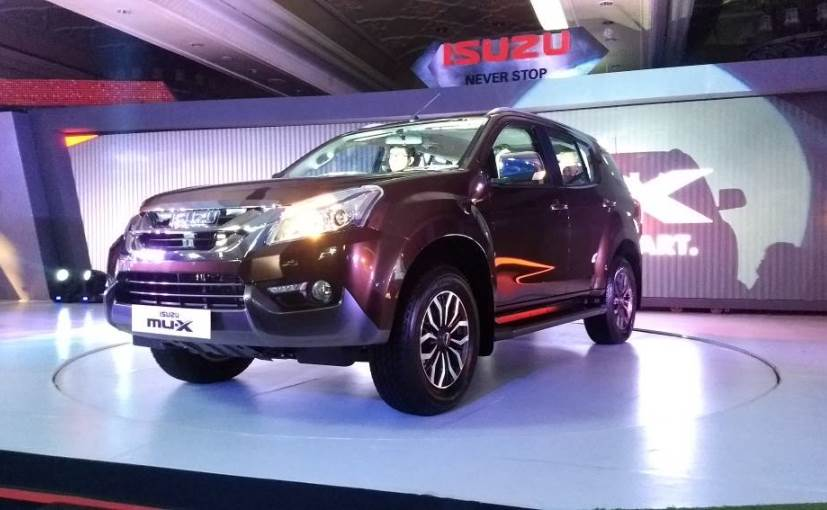 Isuzu launches mu-X priced up to Rs 25.99 lakh