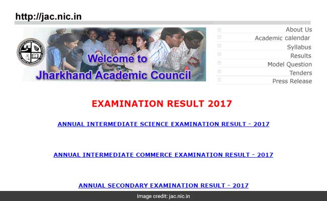 jac results