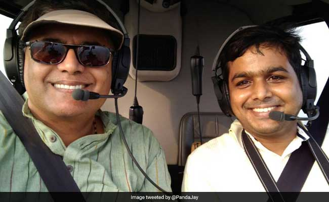 Would Love To Fly In A Chopper, He Tweeted. MP Jay Panda Made It Happen
