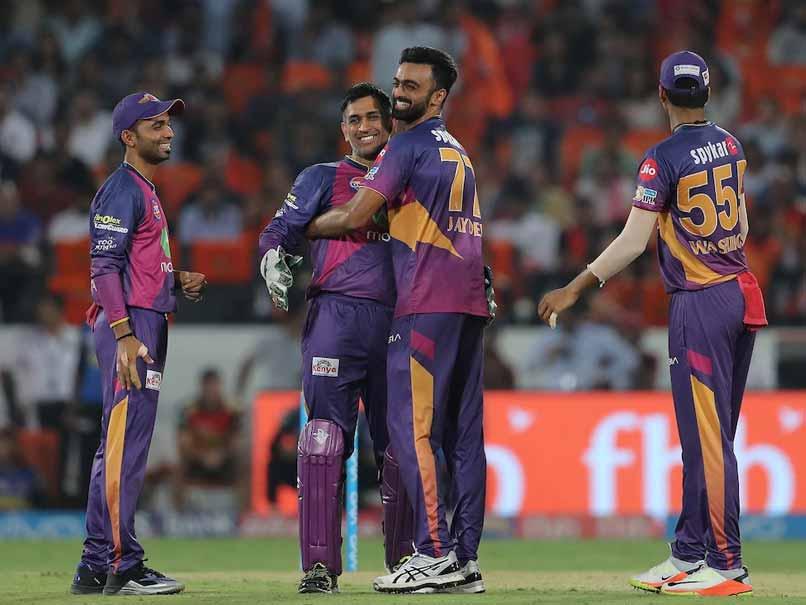 IPL 2017: Jaydev Unadkat's Five-Wicket Haul Helps Rising Pune Supergiant Beat Sunrisers Hyderabad By 12 Runs