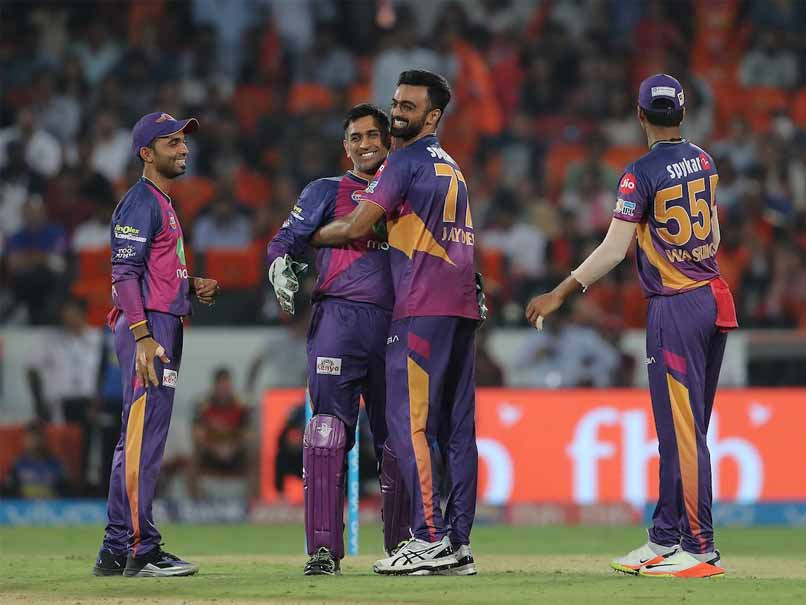 IPL Highlights, SRH Vs RPS: Jaydev Unadkat Hat-Trick Helps Pune Beat Hyderabad By 12 Runs