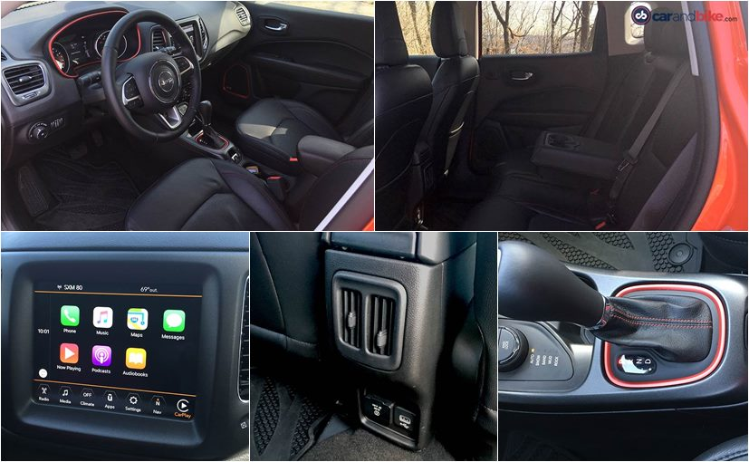 jeep compass trailhawk cabin