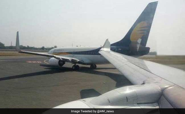 Minor Collision Between 2 Jet Airways Planes At Delhi Airport, Grounded