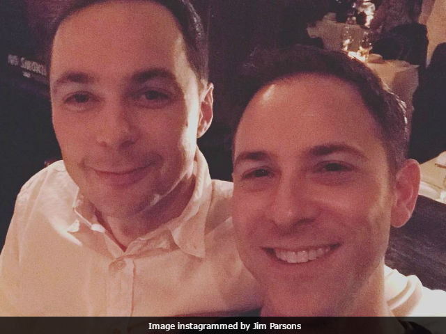 Big Bang Theory's Jim Parsons Marries Boyfriend Todd Spiewak