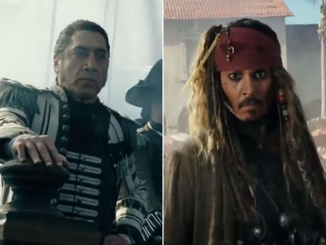 Johnny Depp Javier Bardem