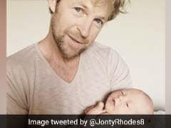 Jonty Rhodes Posts Picture With Newborn Baby, Twitter Goes Gaga