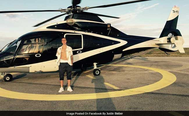 Anybody Who's Anybody Is Taking A Helicopter To Justin Bieber Concert