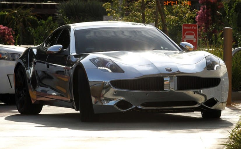 justin biebers customised fisker karma