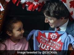 पांच साल की लड़की बनी कनाडा की प्रधानमंत्री, उसके इशारे पर काम करते दिखे पीएम जस्टिन ट्रूडो