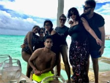 Kajol, Ajay Devgn And Daughter Nysa Holiday In Maldives. Here Are Pics