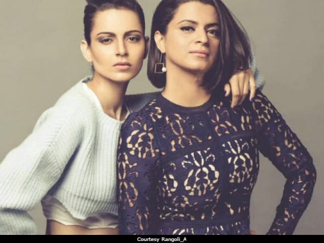 Kangana Ranaut's Sister Rangoli Dismisses Reports Of Rift With Actress