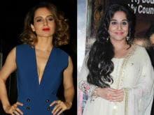 Kangana Ranaut Isn't 'Thin-Skinned' So She's Not Offended By Vidya Balan's Post