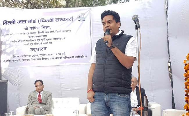 Sacked As I Wanted To Out 'Big Names' In Water Tanker Scam: Kapil Mishra