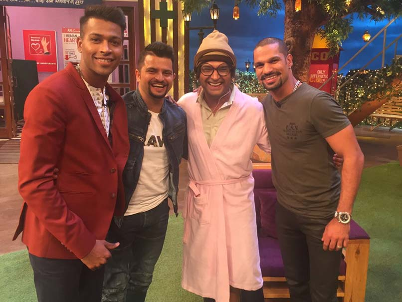 Suresh Raina, Hardik Pandya, Shikhar Dhawan Appear In The Kapil Sharma Show