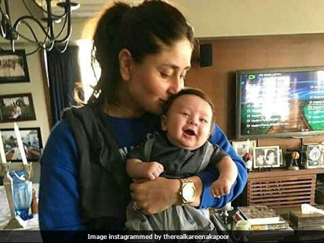 Is That Taimur Ali Khan? Internet Thinks Pic, Going Viral, Is Of Kareena Kapoor And Saif Ali Khan's Son