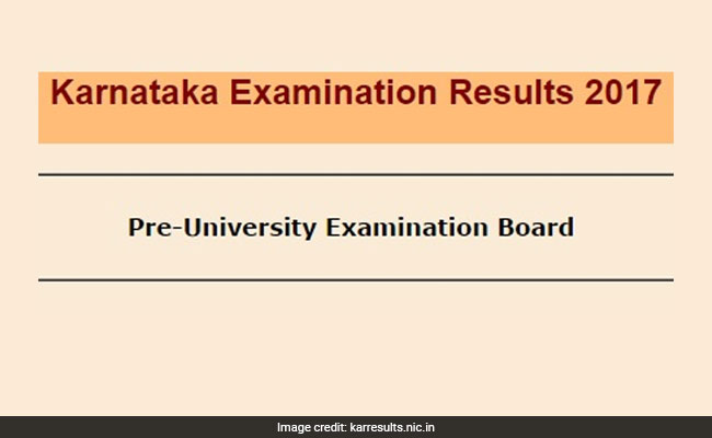 Karnataka II PUC 2017 results out: Pass percentage drops from previous year