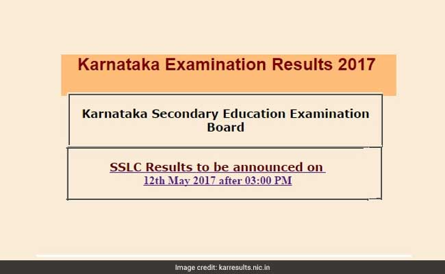 Karnataka SSLC Results 2017 To Be Declared By 2:00 PM Today, How To Check