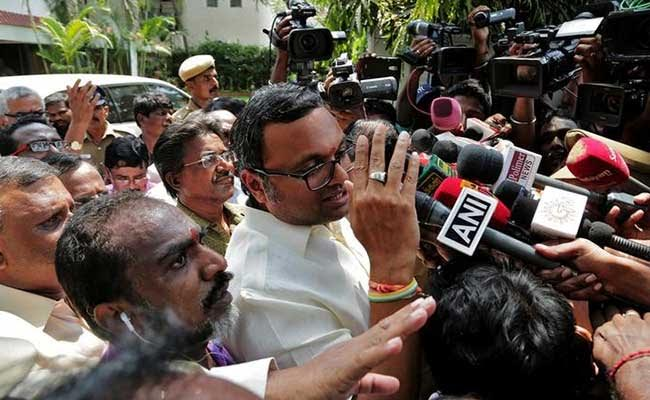 CBI Questions Karti Chidambaram For Second Time In Alleged Corruption Case