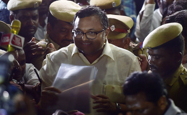 Karti Chidambaram Moves SC Against CBI Summons In Aircel-Maxis Case