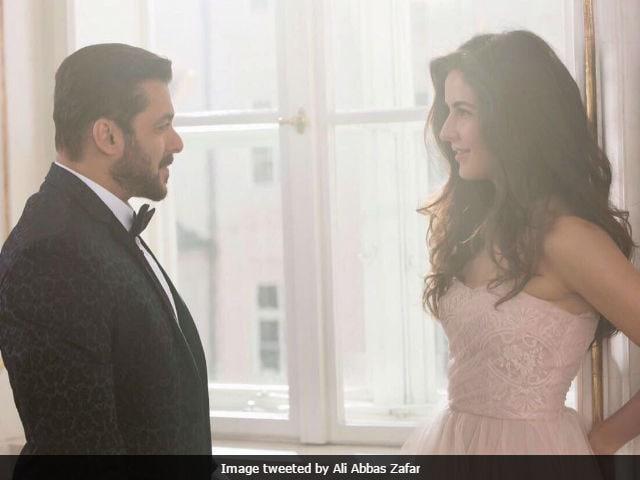 Tiger Zinda Hai: Katrina Kaif Adorably Photobombs Salman Khan. See Pic
