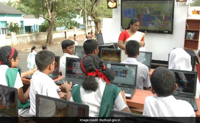 School Learning In Kerala To Go Digital From Standard 1
