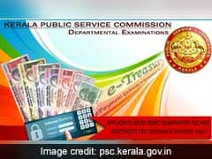 First Kerala Administrative Service (KAS) Notification On November 1