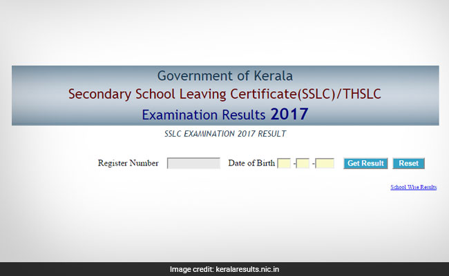 Kerala SSLC results 2017 check class 10 school wise results @ keralaresults