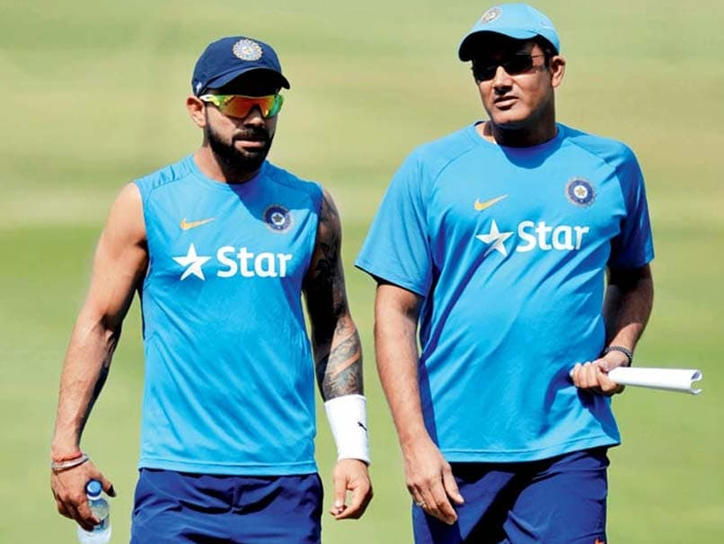 Virat Kohli And Anil Kumble Rift Reports By Media Upset Team India